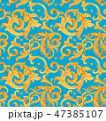 バロック様式 金 黄金のイラスト 47385107