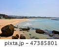 海 海岸 風景の写真 47385801