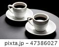 珈琲 コーヒー コーヒーカップの写真 47386027