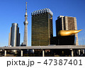 東京スカイツリー 聖火台の炎 スカイツリーの写真 47387401
