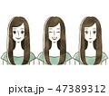女性-表情 47389312
