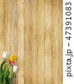 板 木目 壁のイラスト 47391083