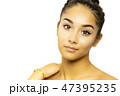 ビューティー 美人 顔の写真 47395235