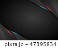 バックグラウンド 黒色 黒のイラスト 47395834