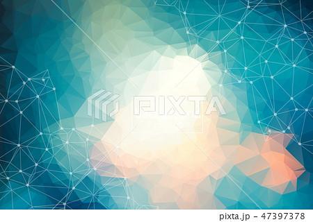 Geometric colorful Polygonal background 47397378