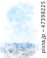 東京 都市風景 都市のイラスト 47398225