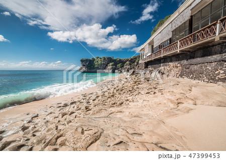 Balangan volcanic Beach in Bali, Indonesia 47399453