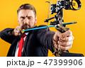 矢 ビジネスマン 実業家の写真 47399906