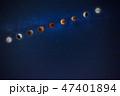 月 空 星の写真 47401894