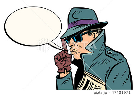 secret agent finger gun gesture 47401971