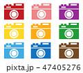カメラ ベクター アイコンのイラスト 47405276