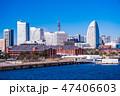 みなとみらい 横浜 街並みの写真 47406603