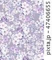 花 フラワー お花のイラスト 47406655