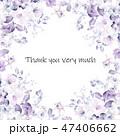 花 フラワー お花のイラスト 47406662