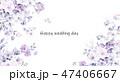 花 フラワー お花のイラスト 47406667