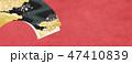 和 背景 扇のイラスト 47410839