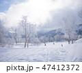 日本 スキー 冬の写真 47412372