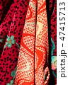 古布、かわいいアンティーク着物、絹、大正ロマン、和素材 47415713