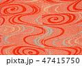 古布、かわいいアンティーク着物の裏地、絹、大正ロマン、和素材 47415750