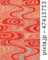 古布、かわいいアンティーク着物の裏地、絹、大正ロマン、和素材 47415753