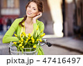 ポートレート 女 女の人の写真 47416497