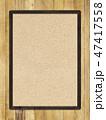 板 木目 壁のイラスト 47417558