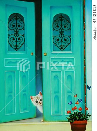幸せの青い扉 47421818