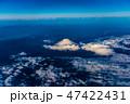 空撮 富士山 富士の写真 47422431