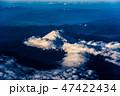 空撮 富士山 富士の写真 47422434