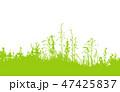 草 ベクター 背景のイラスト 47425837