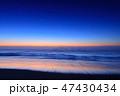 北海道_気嵐の夜明け 47430434