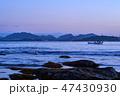 風景 山 海の写真 47430930