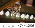 バスケットボールのゴール 47441256
