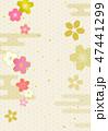 桜 背景 コピースペースのイラスト 47441299