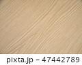 木目調のテーブル 47442789