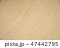 木目調のテーブル 47442795