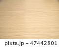 木目調のテーブル 47442801