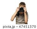 少年 カメラ カメラマンの写真 47451370