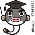鰻 博士 教授のイラスト 47463650