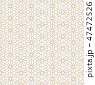 シームレス 和柄 ジャパニーズのイラスト 47472526