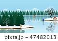 森林 林 森のイラスト 47482013