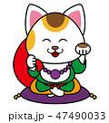 招き猫の布袋様 47490033