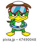 泳げないカッパ 47490048