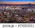 都市風景 高層ビル 街並みの写真 47492031