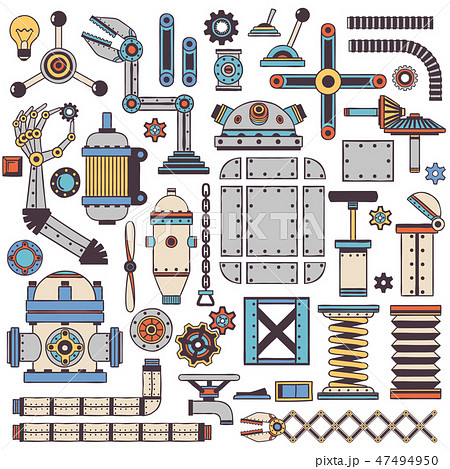 machinery components and spare parts 47494950
