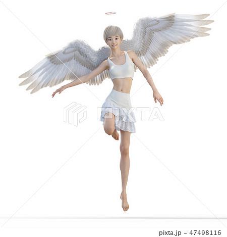 リアルな天使 perming3DCG イラスト素材 47498116