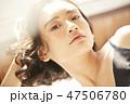 ポートレート 女性 ビューティーの写真 47506780