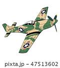 飛行機 ベクトル ファイターのイラスト 47513602