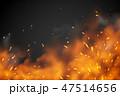 火 火の粉 火ののイラスト 47514656