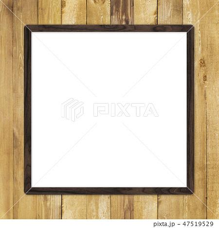 背景-壁-板-木目-茶-フレーム 47519529
